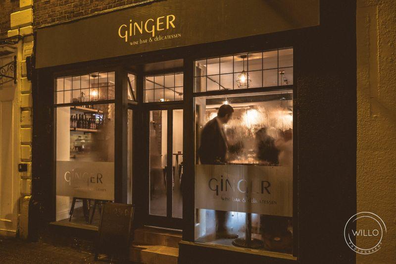 Ginger outside - Chester