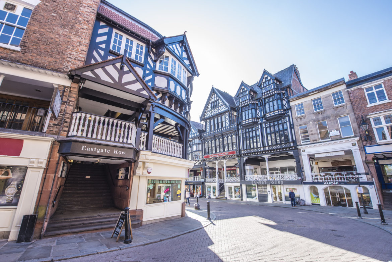Eastgate Street shopping Chester