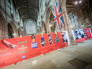 Cathedral goes lego mad as visitors pack out new exhibition