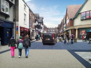 Retailers open for business on Frodsham Street