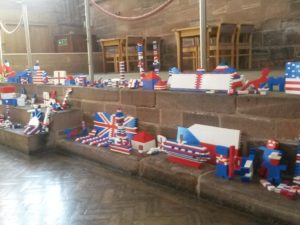 Cathedral Summer Lego Exhibition Inspires Visitors to get creative