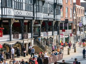 Surge in July footfall for Chester city centre