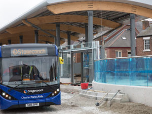 Chester bus interchange final stage