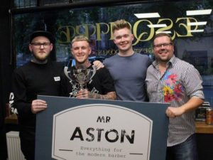 CHESTER SALON HOSTS 'BARBER OF THE YEAR' COMPETITION