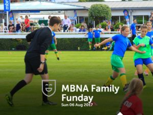 A Festival of Football comes to MBNA Family Funday at Chester Racecourse