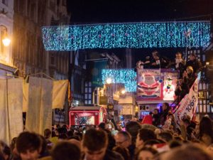 Annual Christmas lights switch-on attracts thousands to Chester