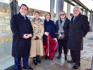 Plaque unveiled at Chester Bus Interchange
