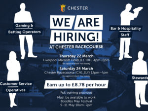 Chester Racecourse to Provide Over 1,000 New Employment Opportunities