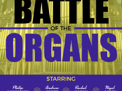 BATTLE OF THE ORGANS AT CHESTER CATHEDRAL