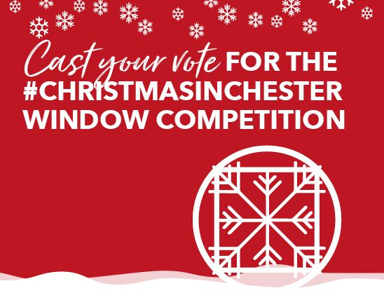 Cast your vote for the #chesterinchester window competition
