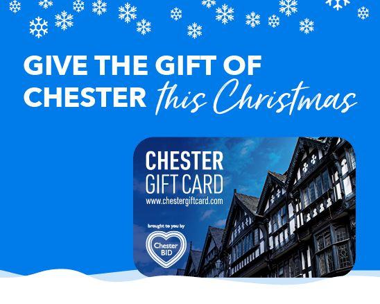 Give the gift of Chester this Christmas