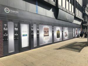 Local photographers unite to transform empty BHS unit