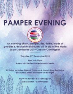 Debenhams Pamper Evening