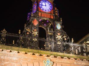 City flys the Purple Flag as iconic landmarks illuminated