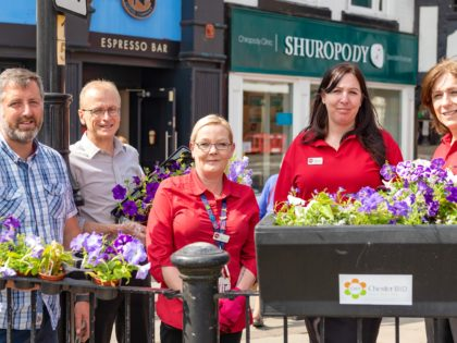 Top award for Chester's summer blossoms