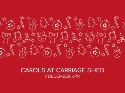 Get into the festive spirit with a Christmas carol concert at Chester's unique Carriage Shed