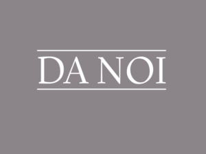 Da Noi: NEW Lunch Menu