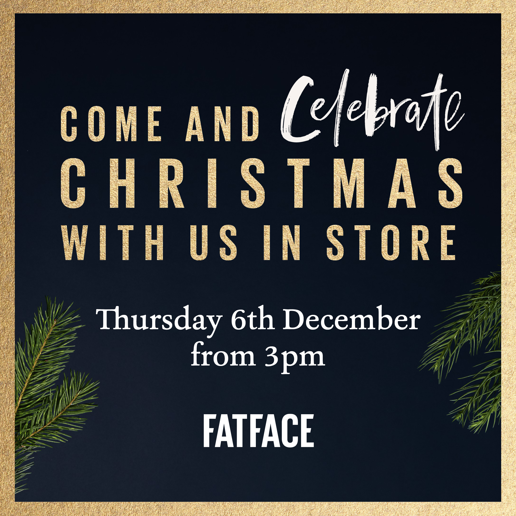 Fatface Christmas Event Experience Chester