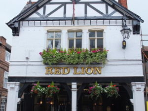 The Red Lion: Wednesdays Pie & Pint