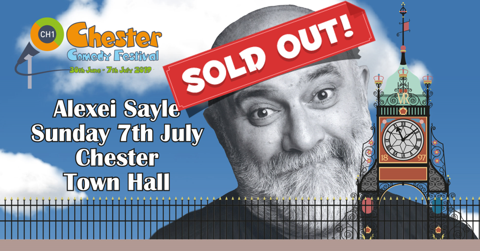 Alexei Sayle SOLD OUT