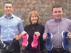 Chester accountants swap calculators for trainers