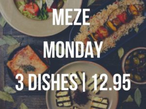 Olive Tree Brasserie Meze Monday