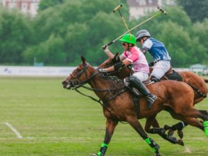 A weekend occasion at the Polo