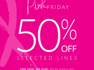 Pink Friday at Mode in Pelle 50% off