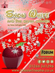 snow white christmas panto