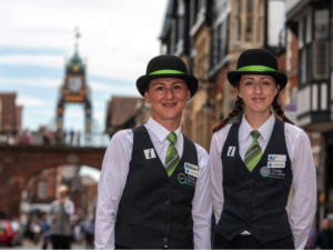 Welcome Ambassadors celebrate 100,000 visitor interactions in Chester