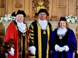 New Lord Mayor of Chester is Councillor Mark Williams