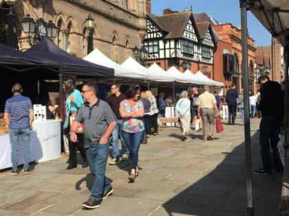 Taste Cheshire Chester Farmer's Market TO GO AHEAD this Saturday 21st March 2020.