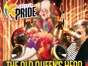 Chester's PRIDE Official After Party at The Old Queen's Head
