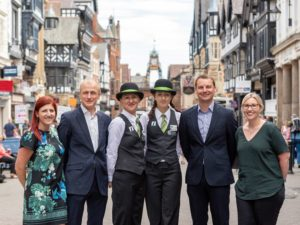 CH1ChesterBID secures an 84% 'yes' vote to continue its work in Chester city centre