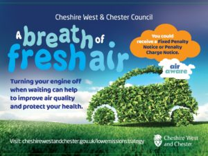 How you can help us to improve air quality in Cheshire West