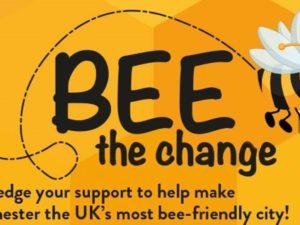 Pledge to BEE THE CHANGE