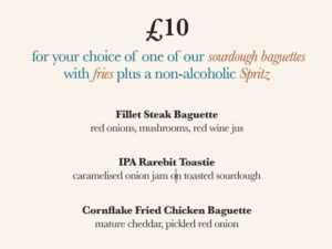 £10 Let's Do Lunch at BarLounge