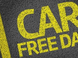 Free travel on the Chester Park and Ride to support World Car Free Day.