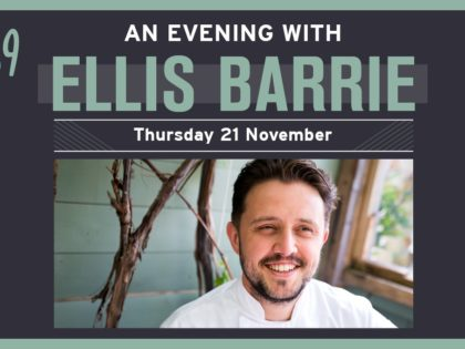Celebrity Chef Ellis Barrie to Host One-Off Six Course Tasting Evening at 1539