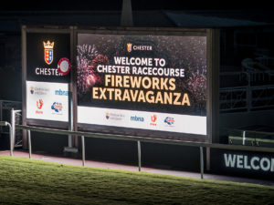 The Fireworks Return to Chester Racecourse this November