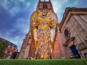 Knife Angel Comes to Chester Cathedral