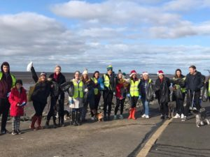 Oliver & Co Employees take on West Kirby Beach for a festive, eco-friendly day out