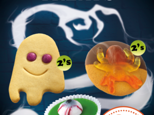 Halloween Special offers at PoundBakery