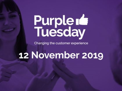 Purple Tuesday 12th Nov, the UK's most accessible shopping day