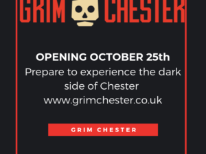 EXPERIENCE CHESTER'S DARK PAST IN A NEW CITY CENTRE ATTRACTION OPENING FOR HALLOWEEN – a special history / scare experience introduced by Chester Life Story.