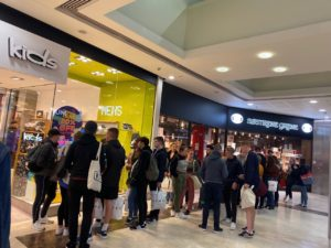 STUDENTS TAKEOVER THE GROSVENOR SHOPPING CENTRE