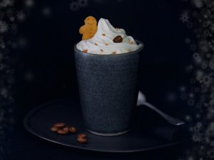 Limited Edition Gingerbread Latte at Crepeaffaire