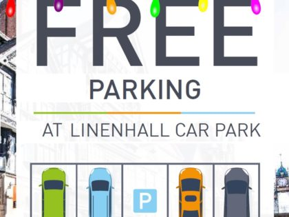 Free Parking at Linenhall for Late Night Christmas Shopping