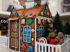 A GINGERBREAD FILLED CHRISTMAS AT GROSVENOR SHOPPING CENTRE
