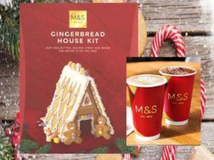 Enjoy a Gingerbread Latte at Marks & Spencer Chester